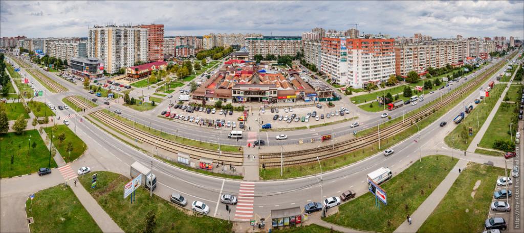 Перевозка грузов из СПб в Краснодар