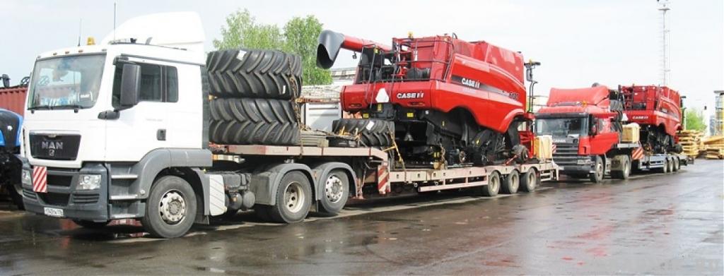 Перевозка сельхозтехники в СПб