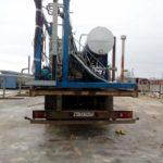 Перевозка тралом мини нефтеперерабатывающего завода