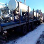 Перевозка мини нефтеперерабатывающего завода