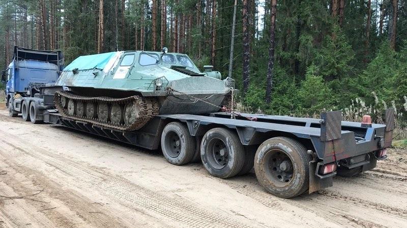 перевозка-БТР-автотранспортом